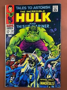 Tales to Astonish #101 Marvel Comics Hulk & Sub-Mariner Silver Age