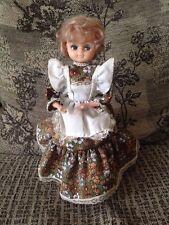Vintage Doll Money Box Revolving Musical Big Eyed Doll Retro