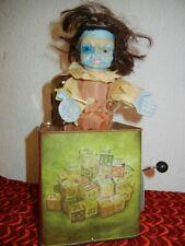 ANIMATED GIRL FRANKENSTEIN MONSTER  JACK in the BOX HALLOWEEN PROP