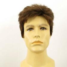 Short Wig For Men Natural Hair dark Blond Ref SEBASTIEN 8