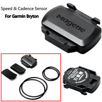 For Garmin Bryton GPS Bike Wireless ANT+ & Bluetooth Speed & Cadence Sensor