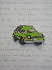 2011 Disney Pixar Cars 2 - ACER - Green Villain Spy Pacer Car Character Pin