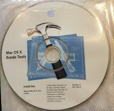 Mac os x xcode tools install disc Version 1.5 691-5144-A