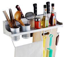 Multifunction Kitchen Pantry Storage Rack Organizer Knife Holder Spice Shelf