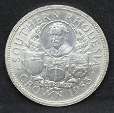 Couronne en argent / Zimbabwe / 1953 / R / Britannique
