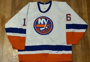 Pat LaFontaine New York Islanders Jersey Game Worn sz 54 Matched 87-88