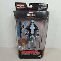 New In Box Marvel Legends Deadpool Gray X-Force Action w Sasquatch BAF Piece