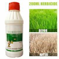 Glyphosate Herbicide weedkiller remove broadleaf Weed & Grass sprayer Kill 200ml
