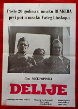TOUGH ONES 1978 WWII DELIJE DRAZENOVIC BURDUS BATA STOJKOVIC EXYU MOVIE POSTER