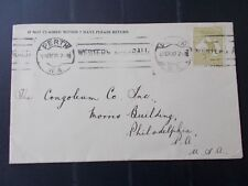 10TH  NOV 1920 OLIVE THREEPENCE KANGAROO ON COVER
