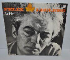FELIX LECLERC: La Vie LP Record 844717 Philips French