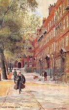 BR67524 kings bench walk charles floiver london   postcard painting    uk