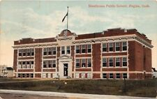 REGINA SASKATCHEWAN CAN STRATHCONA PUBLIC SCHOOL POSTCARD 1917 TO BILLIE COGHLAN