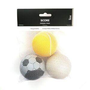 Linx Score Stroker Ball 3 Pack Clear/Multi Masturbators For Men