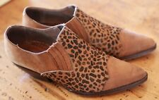 Guess by Georges Marciano Woman's  Western Boot Size 8 Animal Print Free Ship