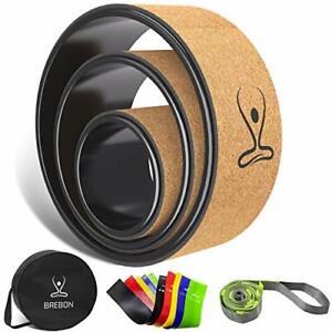 Brebon Yoga Wheel SetBack RollerChirp Wheel 3 Pack for Muscle RelaxationBack ...