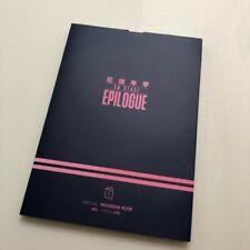 BTS Bangtan Boys Official On Stage Epilogue Program Book K-POP Opened