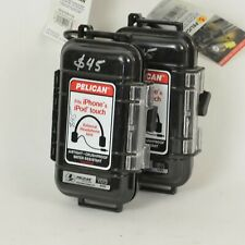 Set of 2 / PELICAN i1015 Case for iPhone & iPod Touch EXTERNAL JACK Black