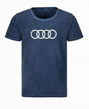Original Audi T-Shirt Ringe, Herren, blau,S,M,L,XL,XXL,XXXL 3132000412-7