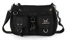 Sansibar Calima Zip Bag Tasche Umhängetasche Schultertasche Black Schwarz Damen