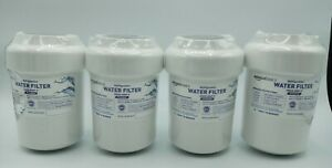 4 PACK unbranded GE MWF SmartWater MWFP mwf-p GWF Comparable Refrigerator Filter