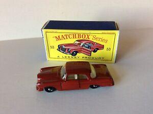 Matchbox 53 MERCEDES-BENZ COUPE,  mint boxed