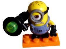 Minion mit Lampe  Figur Mega Bloks Ich einfach unverbesserlich Serie 11 neu