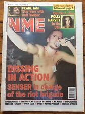 NME 23/10/93 Senser cover, Tindersticks, Spiritualized, PJ Harvey, Pearl Jam