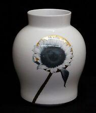 Rosenthal Vase Studio Linie Marcel Wanders Florebana Sonnenblume Porzellan weiß