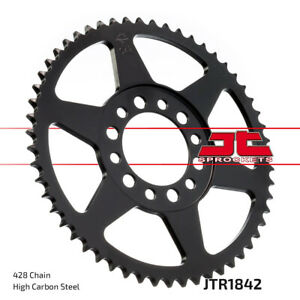 Steel Rear Sprocket - 51 Tooth 428 JTR1842.51 For Yamaha TW200 YZ80 XT DT MX