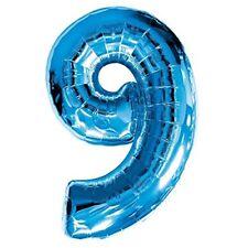Palloncini blu compleanno adulto per feste e party
