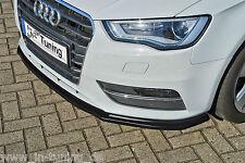 Sonderaktion Spoilerschwert Frontspoilerlippe Cuplippe aus ABS Audi A3 8V ABE