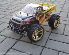 RC Monster Truck 45 cm mit großen Rädern und Federung RTR Buggy