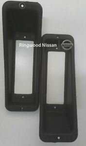 NISSAN PATROL PAIR QTY 2 STEEL  BULL BAR  INDICATOR SURROUNDS  62257 2S601A