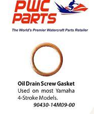 YAMAHA OEM Outboard Oil Drain Screw Gasket 4-Stroke F150 F80 F100 90430-14M09-00