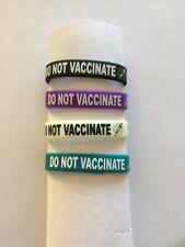 2 toddler boy girl antivax no vaccines awareness bracelets child anti vaccine