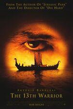 THE 13TH WARRIOR Movie POSTER 11x17 Antonio Banderas Vladimir Kulich Clive