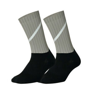 Pro Mens Womens Reflective Cycling Sports Ankle Socks Riding Bicycle Socks Blue