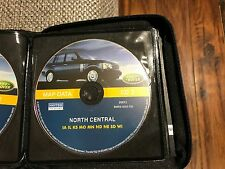 LAND ROVER NAVIGATION MAP CD 3 NORTH CENTRAL IA IL KS MO MN ND NE SD WI