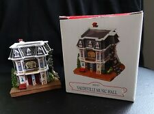 Liberty Falls Vaudeville Music Hall Ah232 Christmas Western Snow Village Figure
