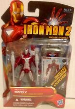 "Iron Man 2, Action Figure Number 11 MARK V IRON MAN 3.75"" Movie Series"