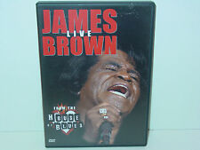 """*****DVD-JAMES BROWN""""LIVE-FROM THE HOUSE OF BLUES""""-2000 Image Entertainment*****"""