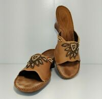 Women's Clarks Artisan Leather Sandals Size 9.5M