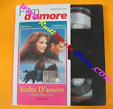 VHS film SCELTA D'AMORE Julia Roberts Campbell Scott DEAGOSTINI (F121) no dvd