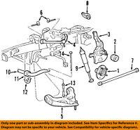 FORD OEM Stabilizer Sway Bar-Front-Bracket F87Z5486BA