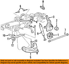 FORD OEM Stabilizer Sway Bar-Front-Bracket F87Z5486BA
