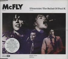 McFLY The Ballad of Paul K / Ultraviolet   4 TRACK CD + POSTER NEW - NOT SEALED