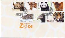 2012 Australia - Australian Zoos Fdc
