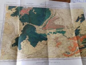 Carte Geologique Ebay