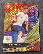 49/49 2020 JADON SANCHO SELECT UEFA EURO Soccer Field Level Copper Prizm🔥Eng